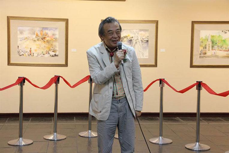 水彩畫大師陳陽春 舉辦第200次世界個展