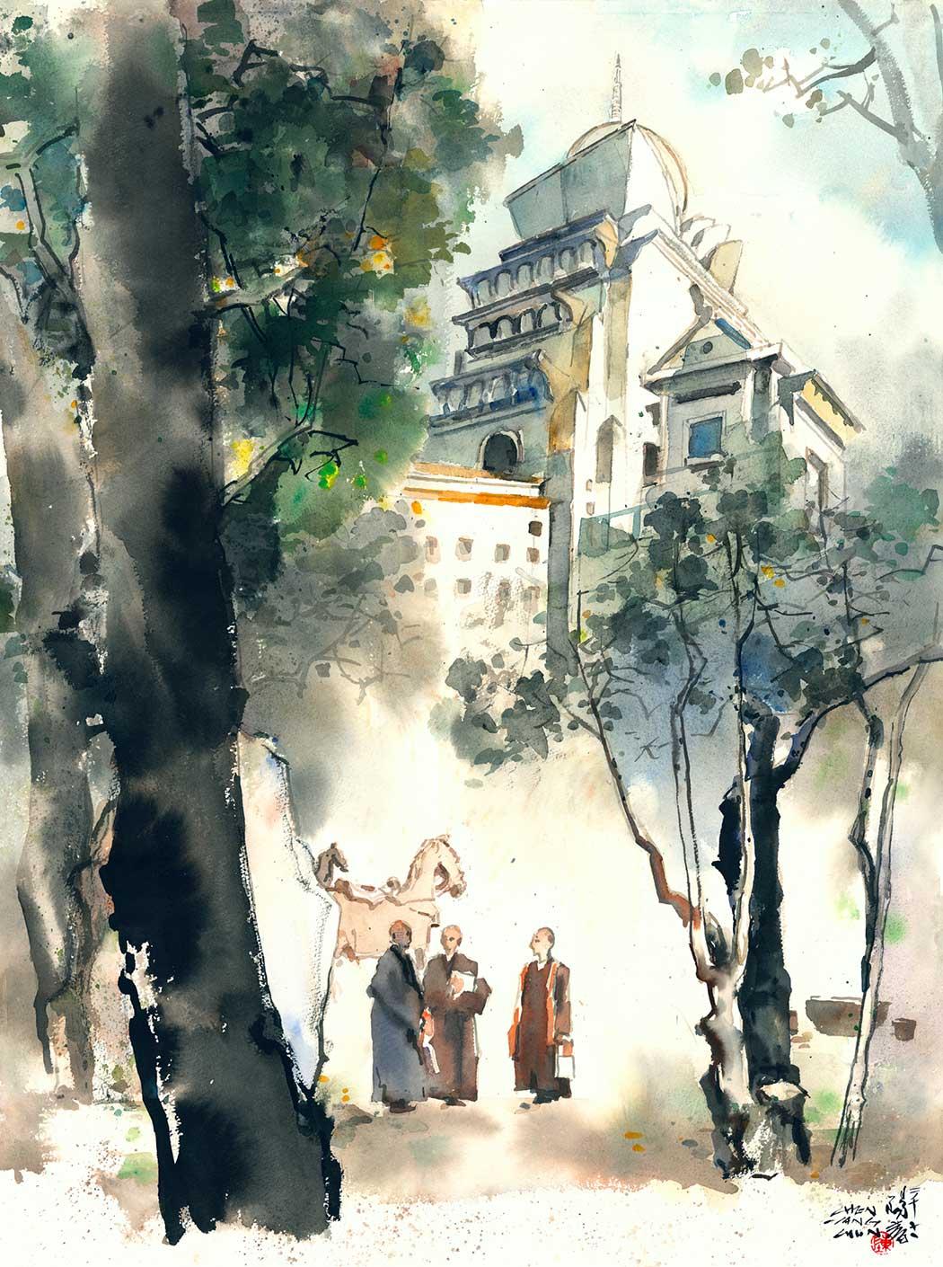 清涼中台禪寺