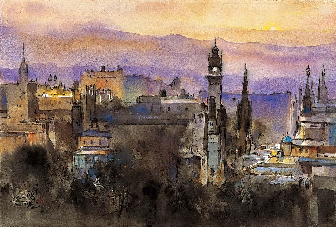 愛丁堡遠眺