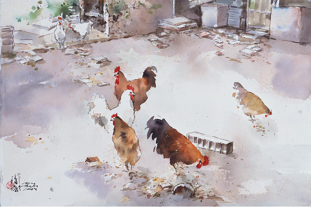 鄉下養雞人家