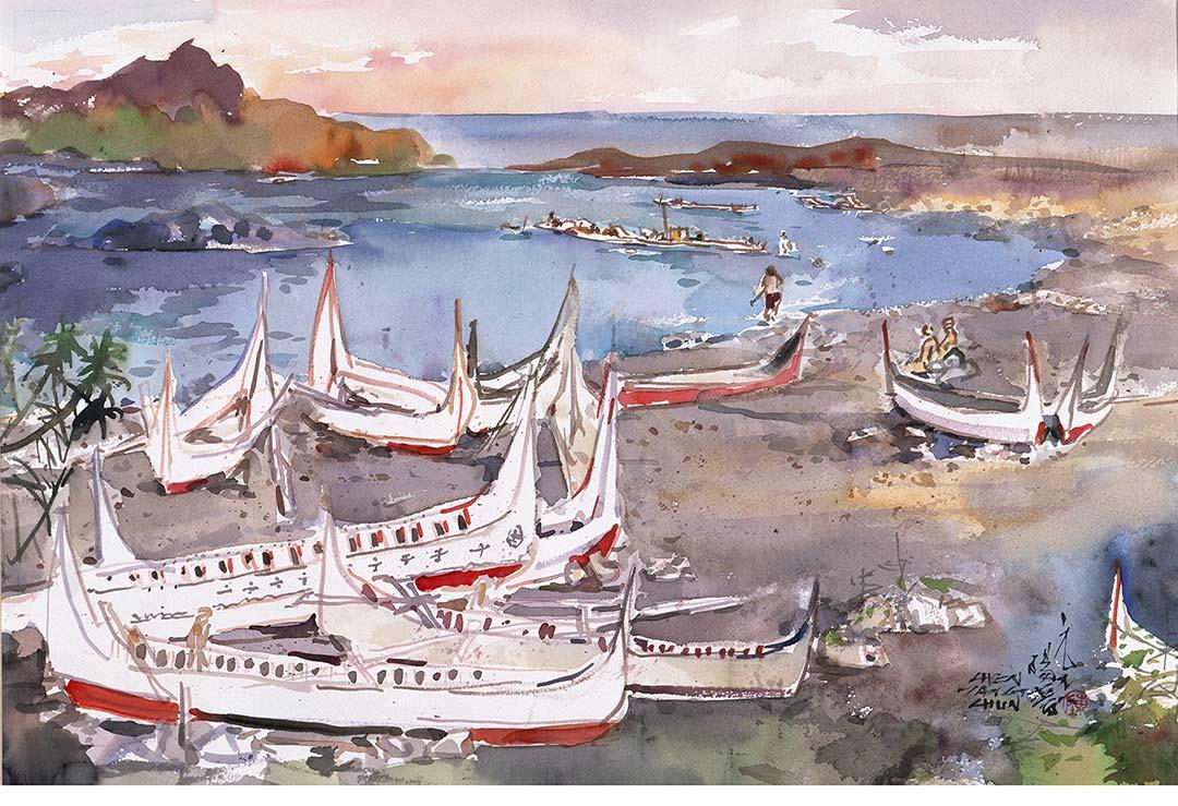蘭嶼獨木舟